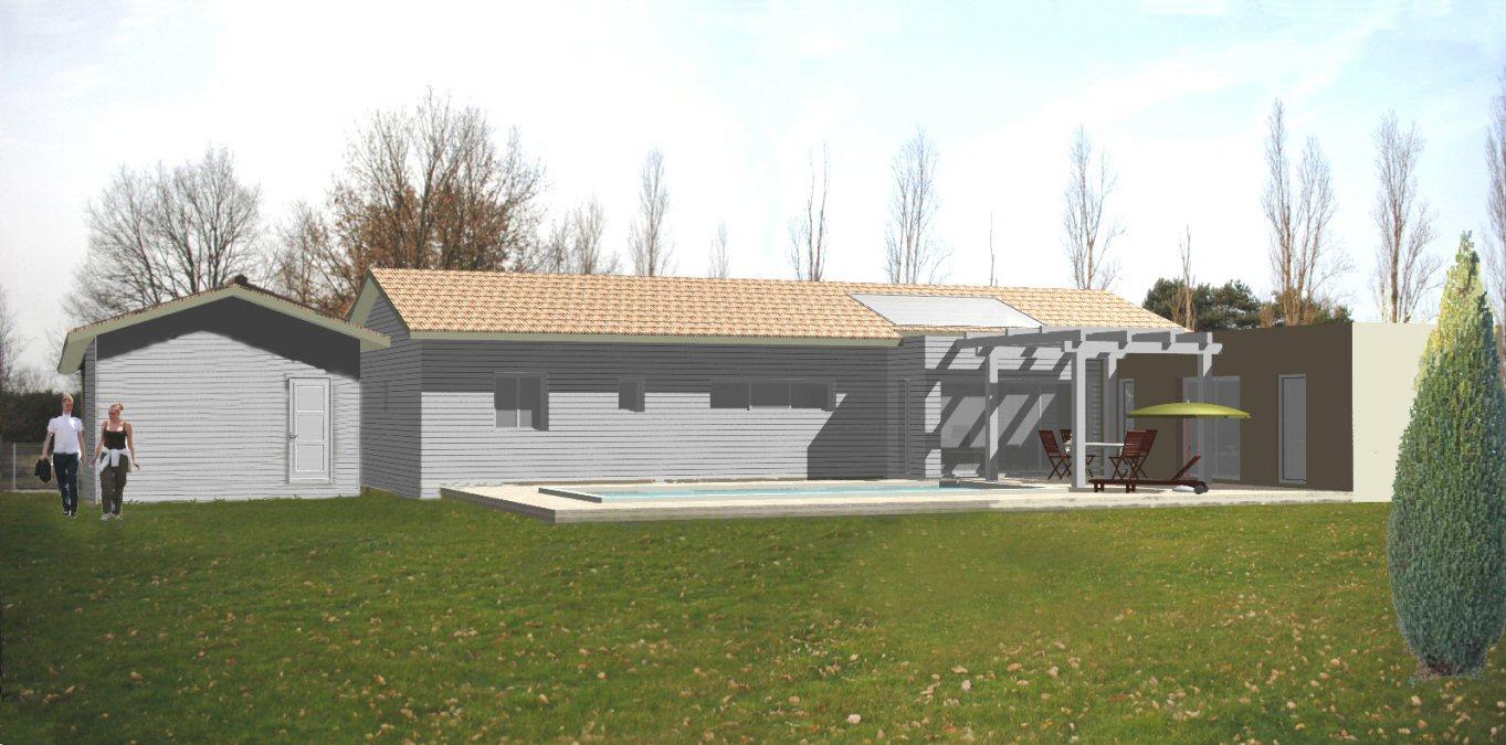 Anne-Marie Taupiac architecte DPLG - Extension de maisons neuves