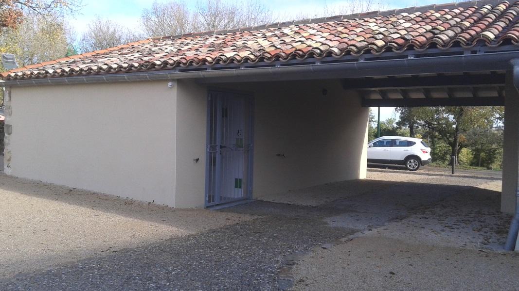 Vue 10 extension salle des fetes de Montagudet
