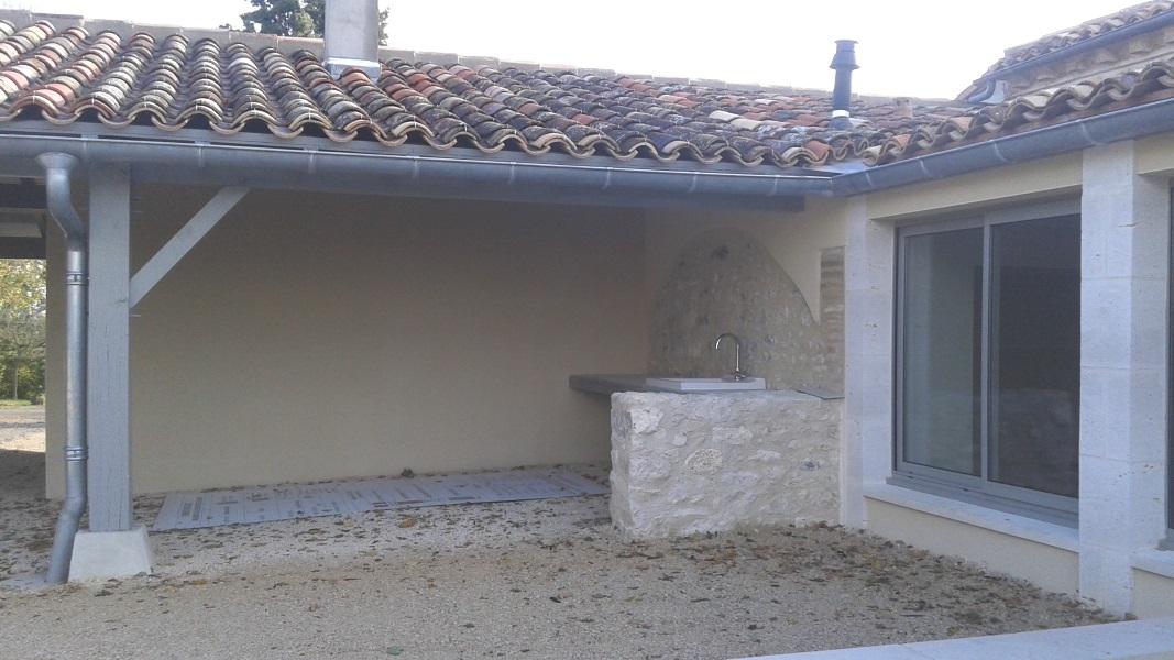Vue 11 extension de la salle des fêtes de Montagudet