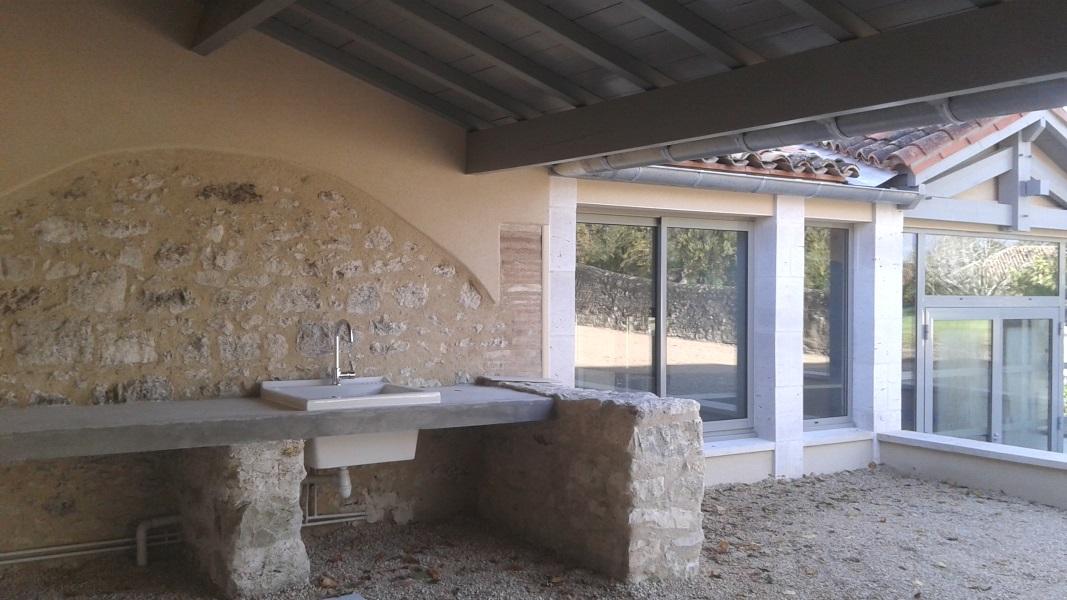 Vue 12 extension salle des fêtes de Montagudet