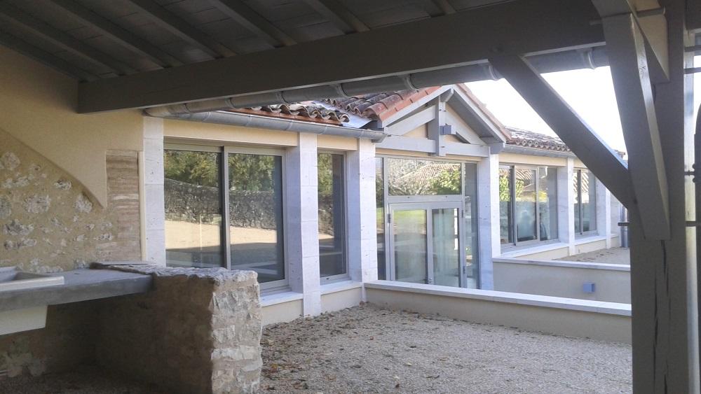 Vue 13 extension salle des fêtes de Montagudet