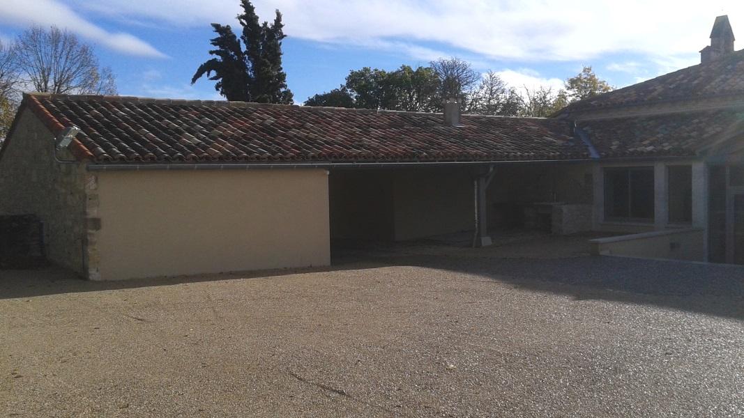 Vue 16 extension salle des fêtes de Montagudet