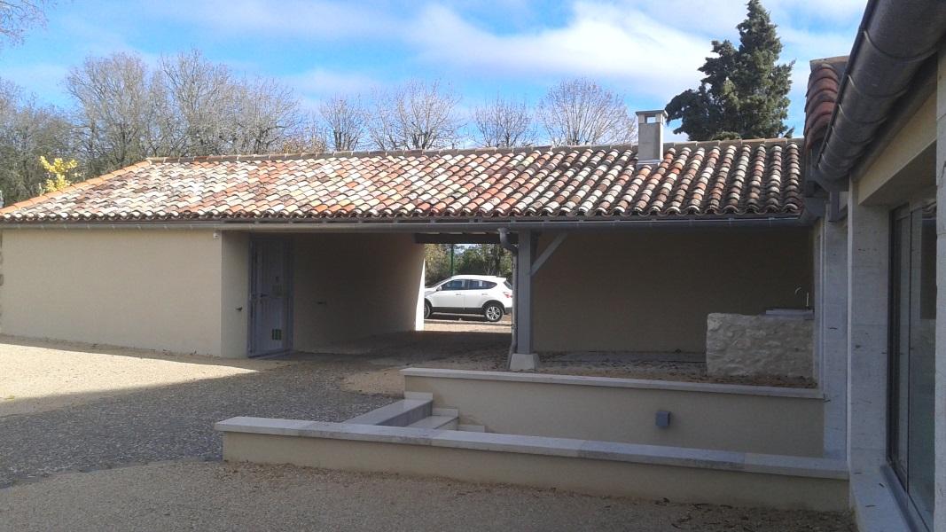 Vue 19 extension salle des fêtes de Montagudet
