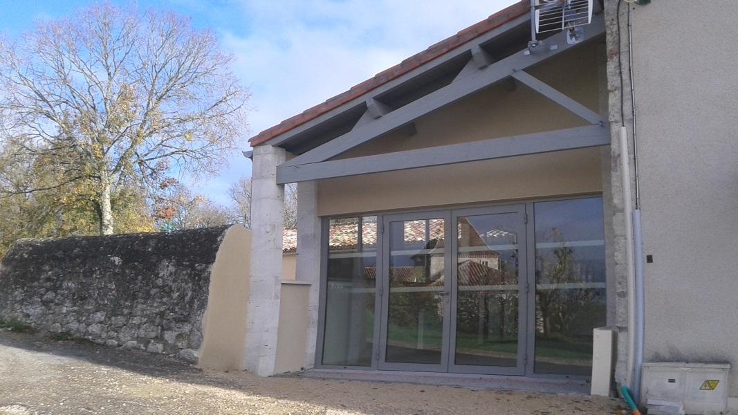 Vue 20 extension salle des fêtes de Montagudet