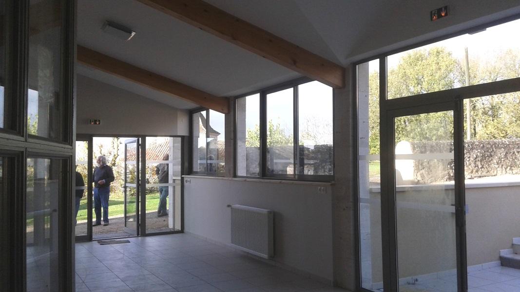 Vue 6 extension salle des fêtes Montagudet